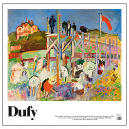 Boardwalk of the Casino Poster by Dufy