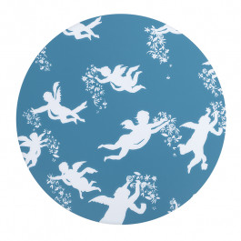 Zurbarán Angels Individual Blue Placemat
