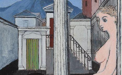 Paul Delvaux: paseo por el amor y la muerte