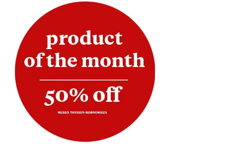 Product of the month 50% off