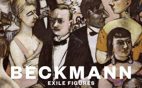 image Beckmann. Exile Figures