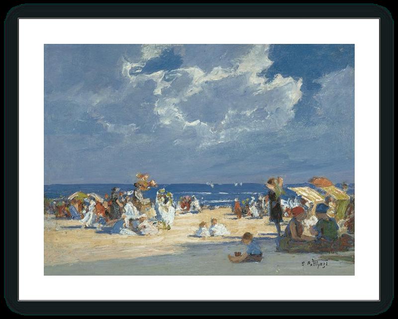 Beach Scene Homer Winslow Museo Nacional Thyssen Bornemisza