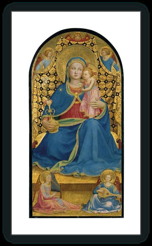 zoom La Virgen de la Humildad