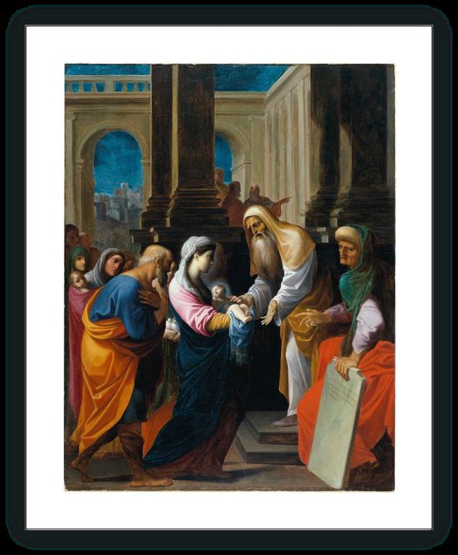 zoom La Presentación del Niño en el templo