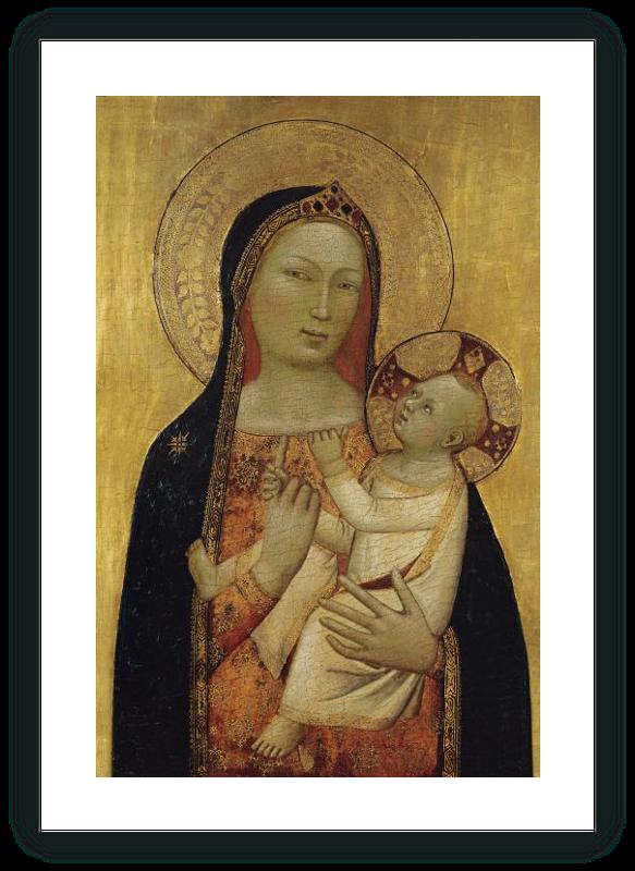 zoom La Virgen con el Niño