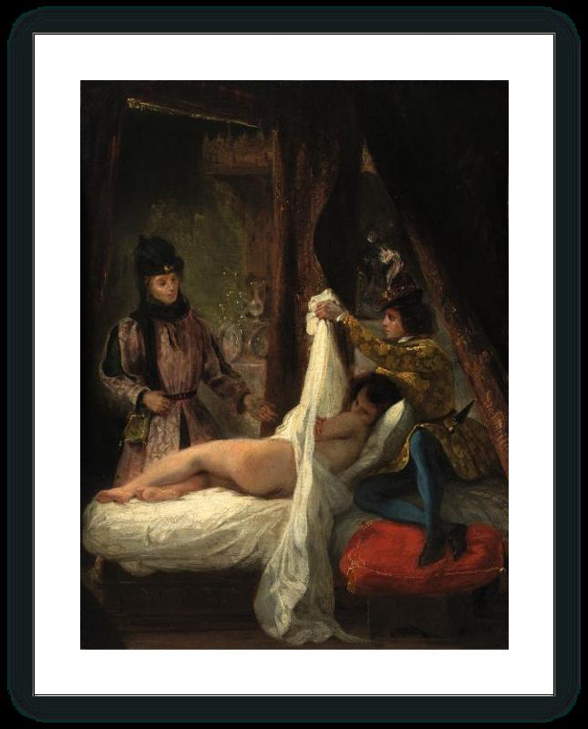 zoom El Duque de Orleans mostrando a su amante