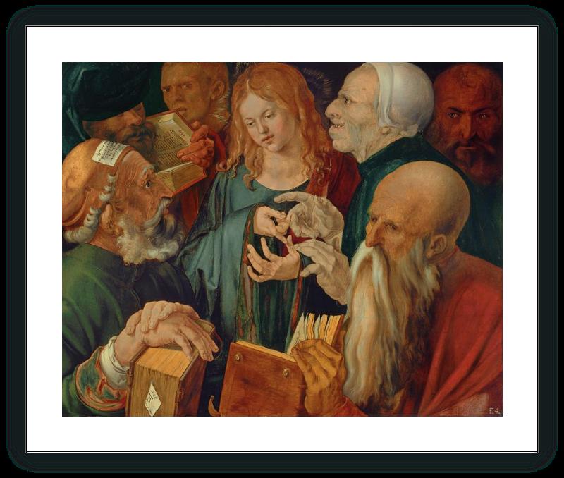 zoom Jesús entre los doctores