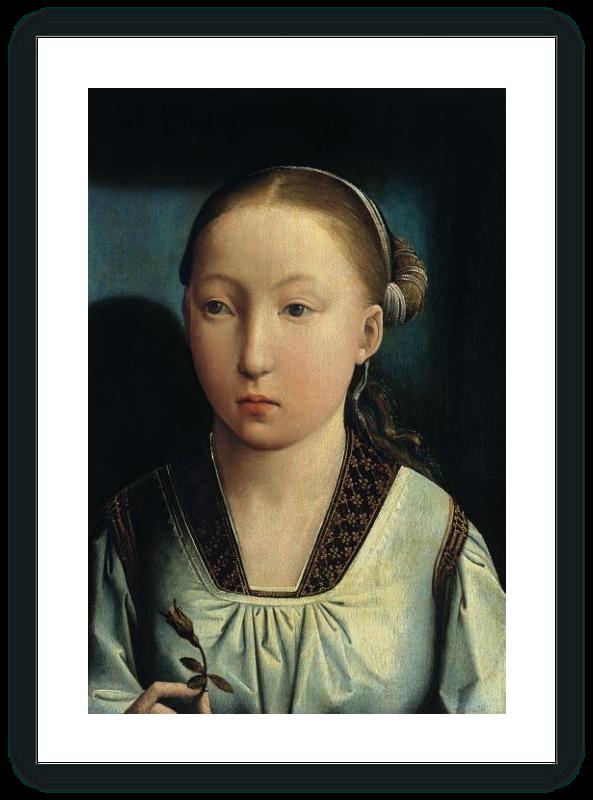 zoom Retrato de una Infanta (¿Catalina de Aragón?)