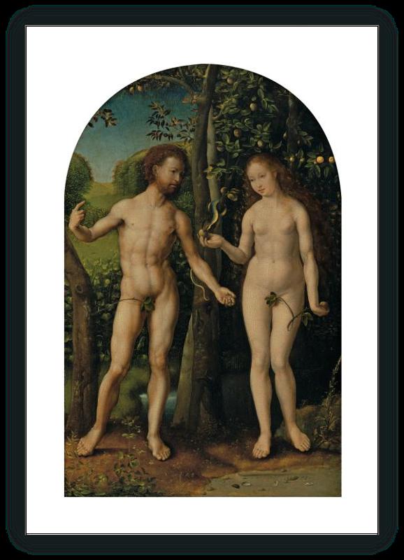 zoom Adán y Eva