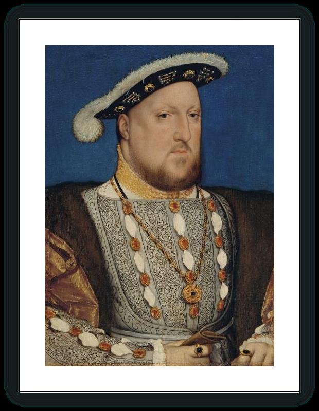 zoom Retrato de Enrique VIII de Inglaterra