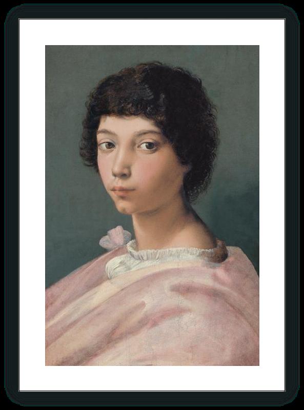 zoom Retrato de un joven (¿Alejandro de Médicis?)