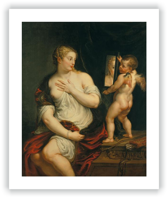 zoom Venus y Cupido