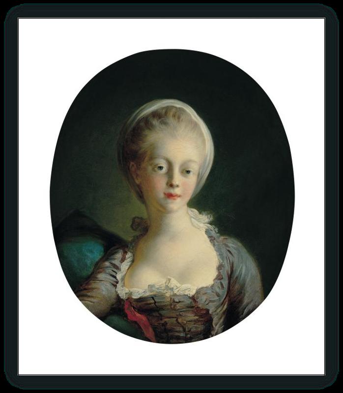 zoom Retrato de joven dama