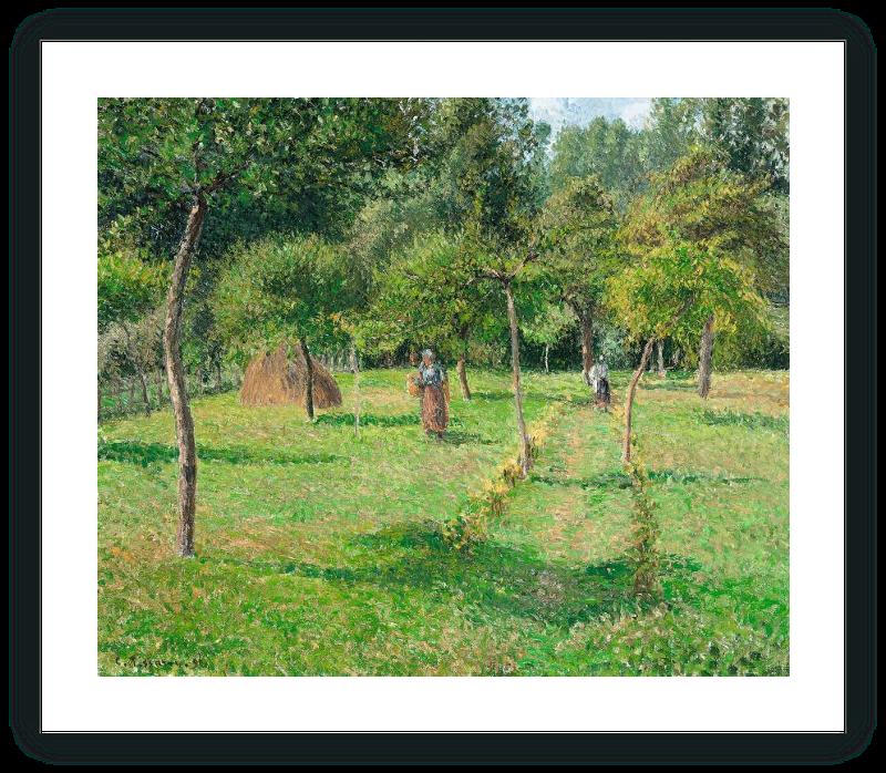 zoom El huerto en Éragny