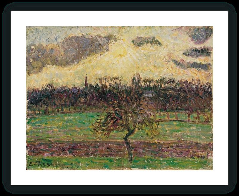 zoom Prados de Éragny, el manzano