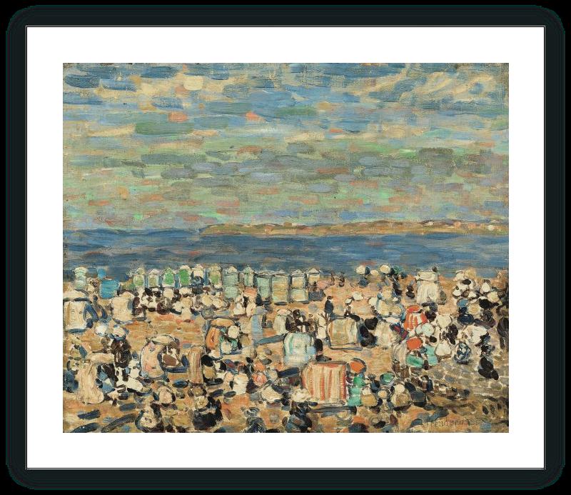 zoom La playa de St. Malo