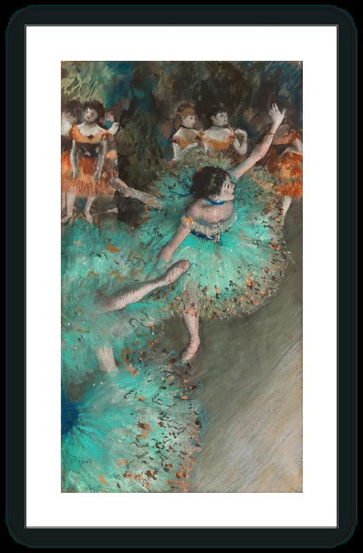 zoom Bailarina basculando (Bailarina verde)