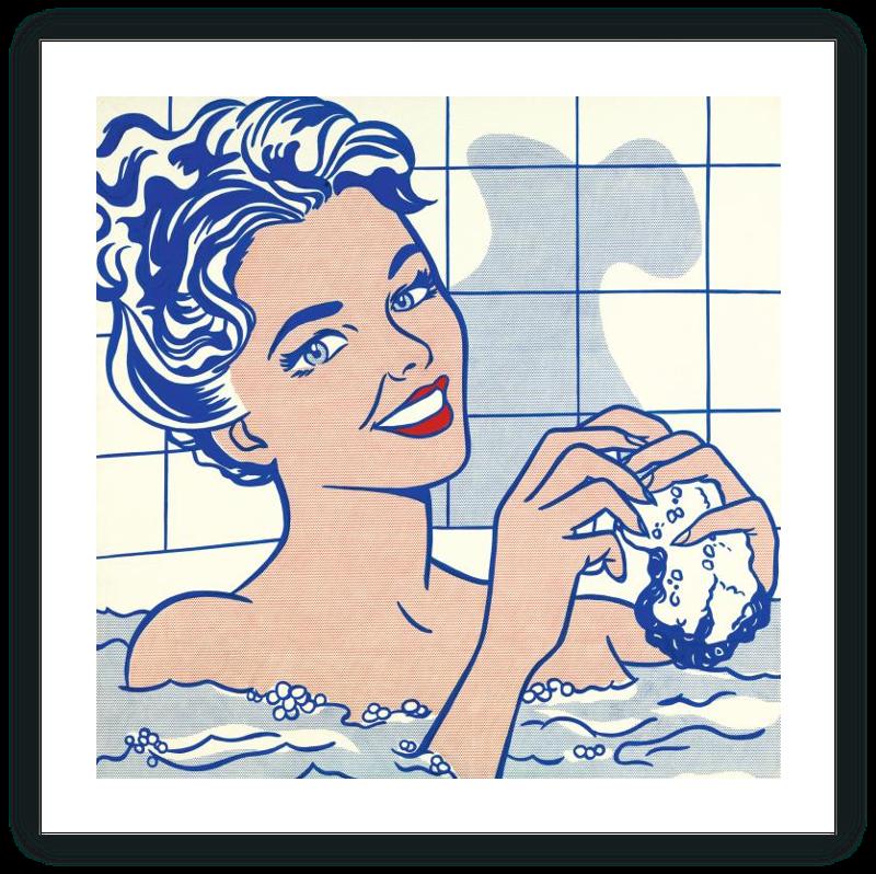 zoom Mujer en el baño