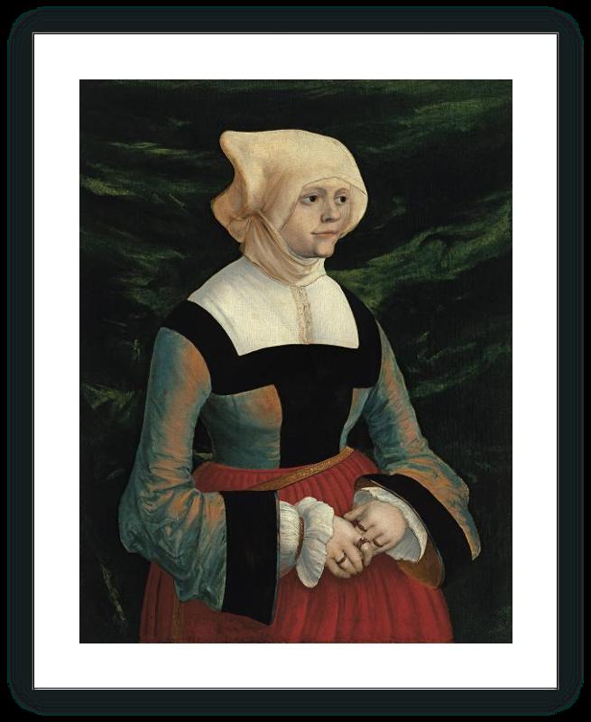 zoom Retrato de una mujer