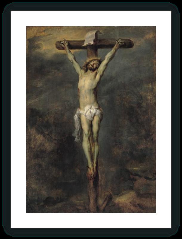 zoom Cristo en la Cruz