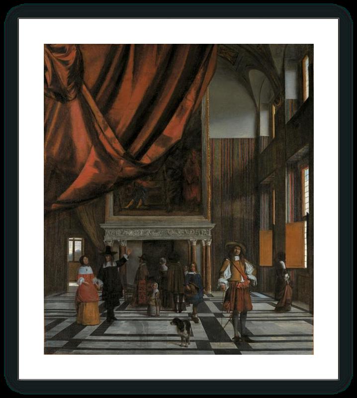 zoom La Sala del Concejo del Ayuntamiento de Amsterdam