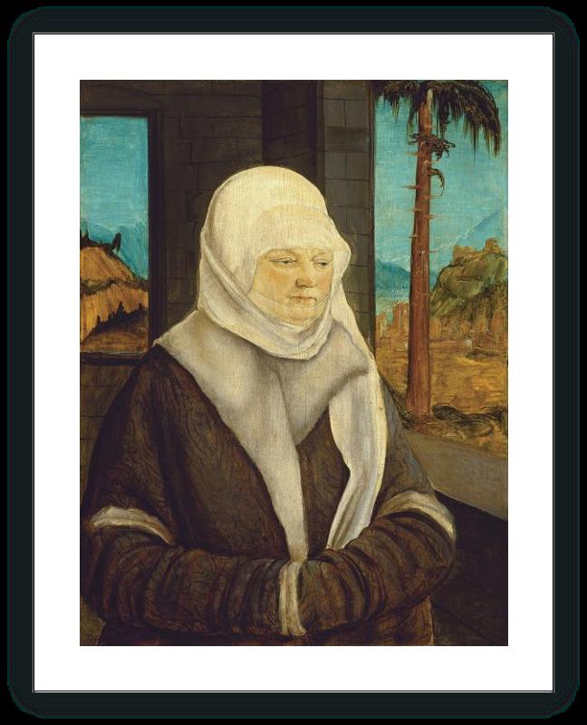 zoom Retrato de una mujer de la familia Reuss