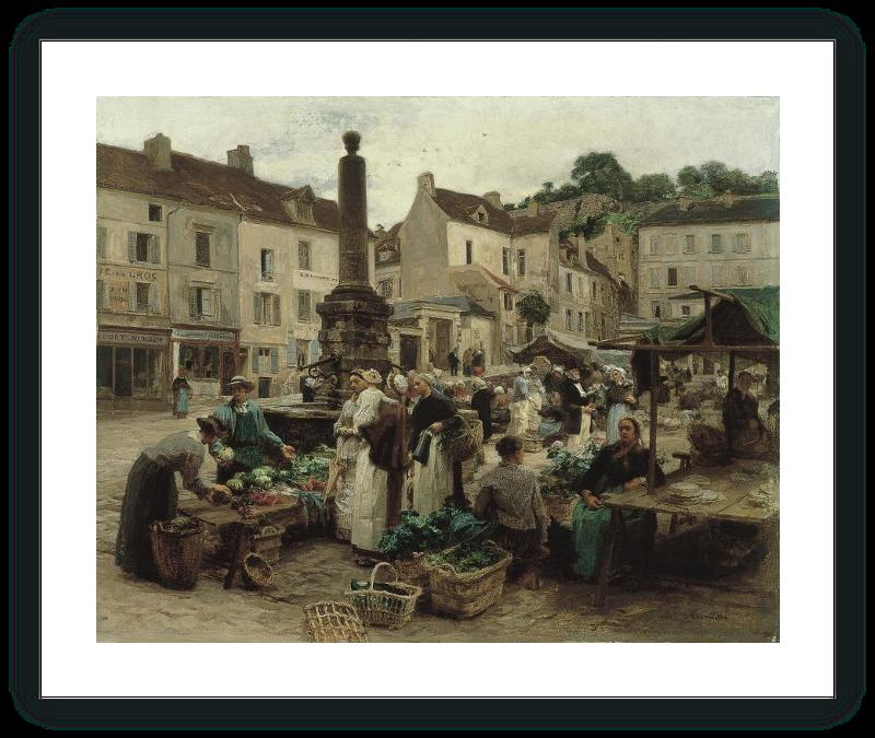 zoom El mercado de Château-Thierry