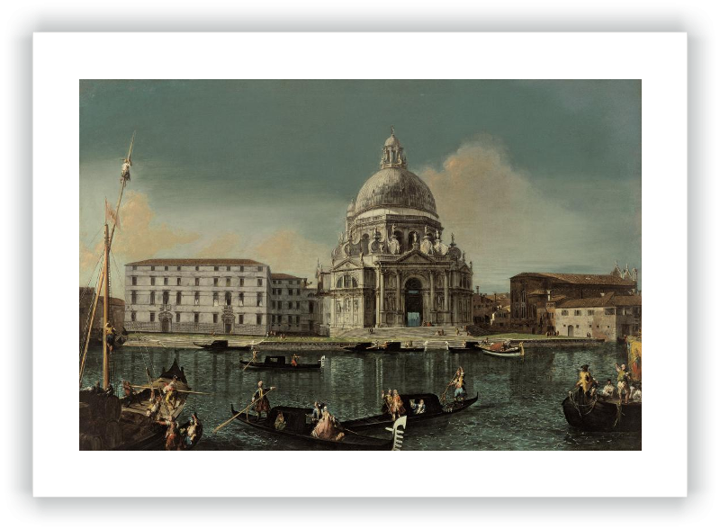 zoom Vista del Canal Grande con Santa Maria della Salute