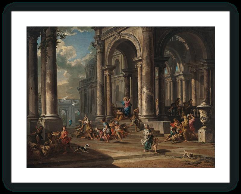 zoom La Expulsión de los mercaderes del Templo