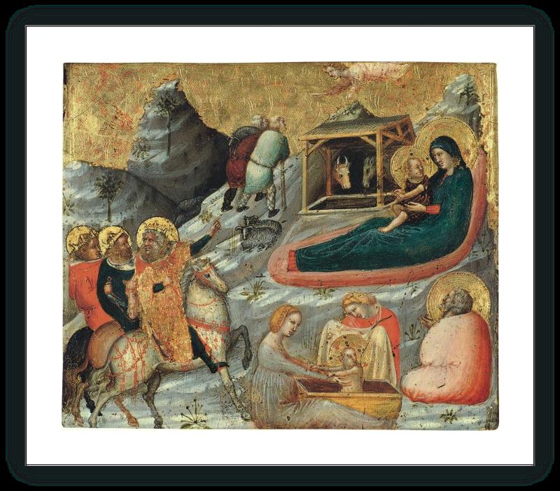 zoom La Natividad y otros temas de la infancia de Cristo