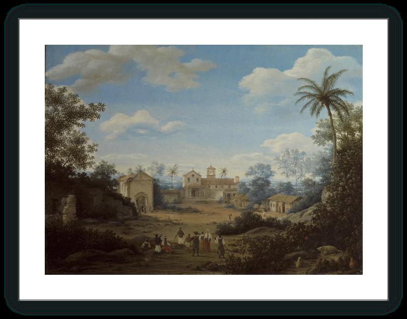 zoom La Iglesia de S. Cosme y S. Damián, y el monasterio franciscano de Igaraçu, Brasil