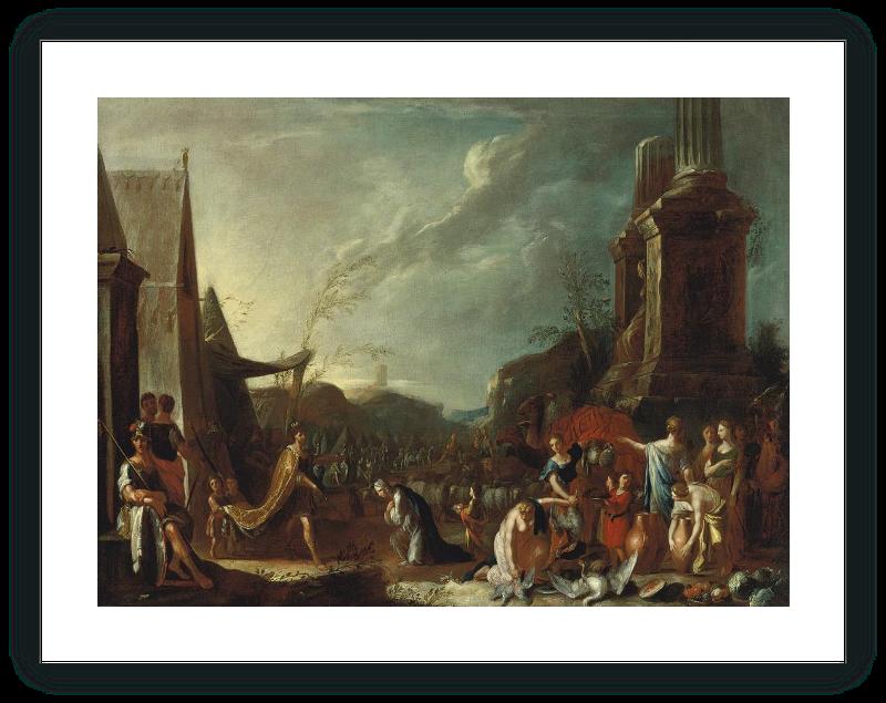zoom Salomón y la Reina de Saba