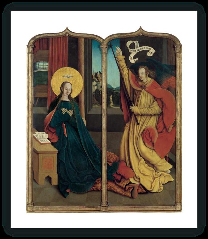 zoom La Virgen de la Anunciación / El ángel de la Anunciación
