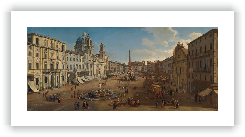 zoom Piazza Navona, Roma