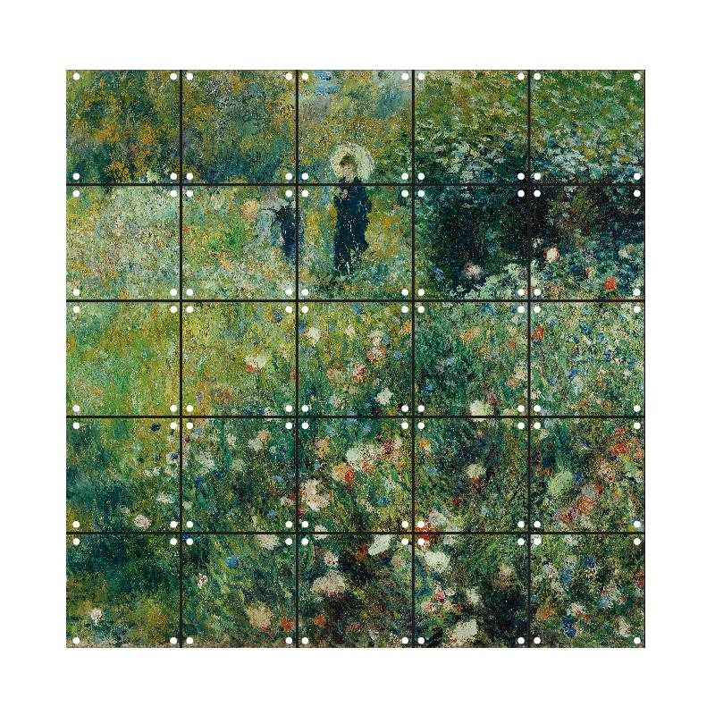 """zoom Decoración mural IXXI 100 X 100 cm Renoir """"Mujer con sombrilla"""""""
