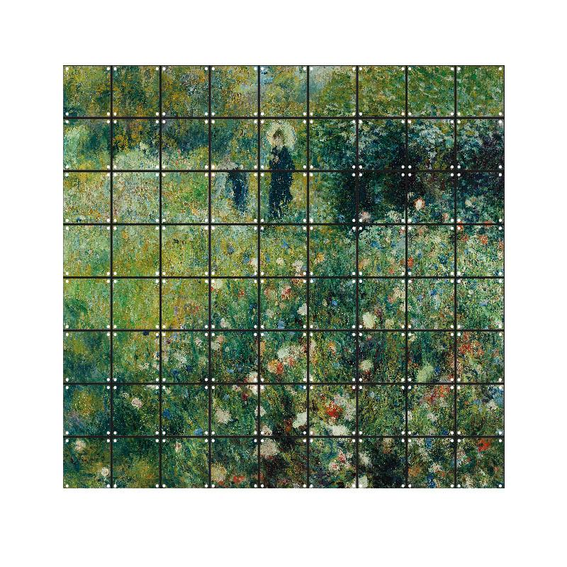 """zoom Decoración mural IXXI 180 X 160 cm Renoir """"Mujer con sombrilla"""""""