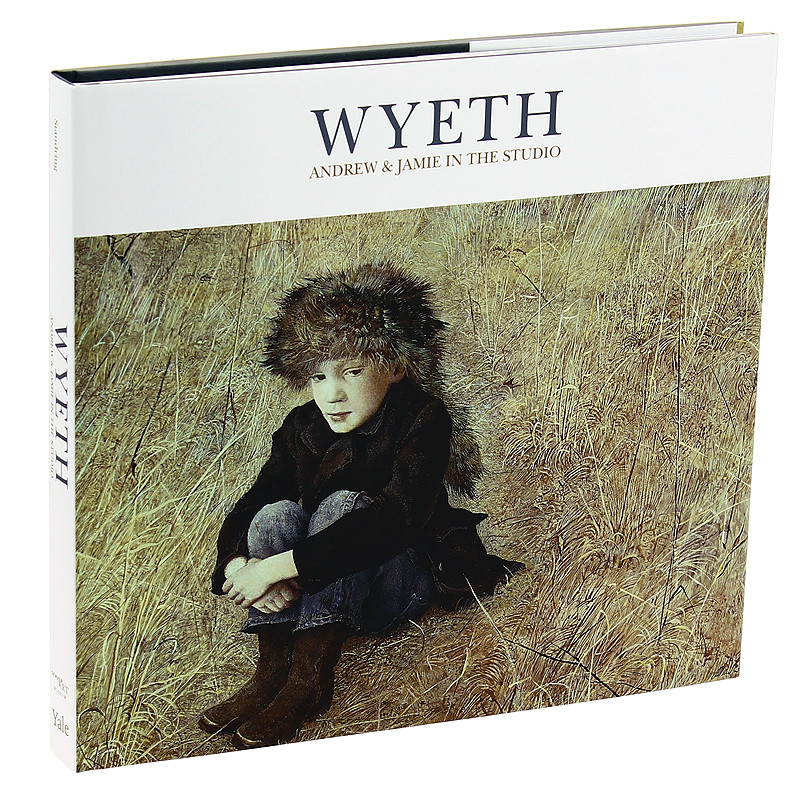 zoom Wyeth: Andrew and Jamie in the Studio