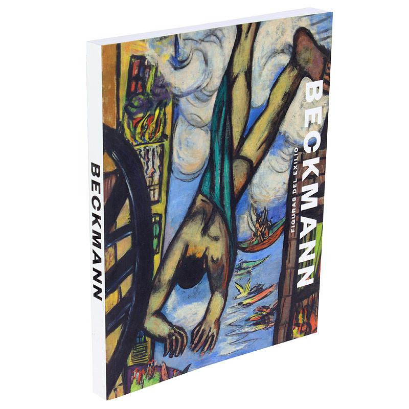zoom Max Beckmann, figuras del exílio. Catálogo de la exposición. Rústica español.