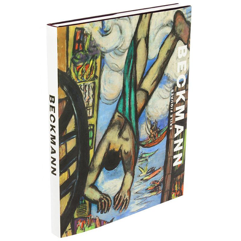 zoom Max Beckmann, Exile figures. Catálogo de la exposición tapa dura inglés.
