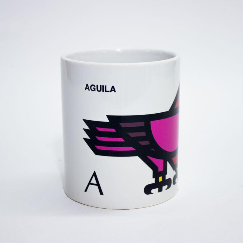 zoom Taza Águila Cruz Novillo