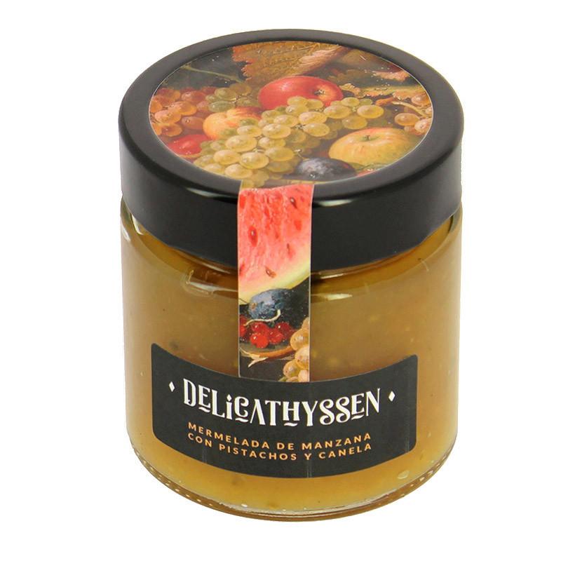 zoom Mermelada de manzana con pistachos y canela Delicathyssen