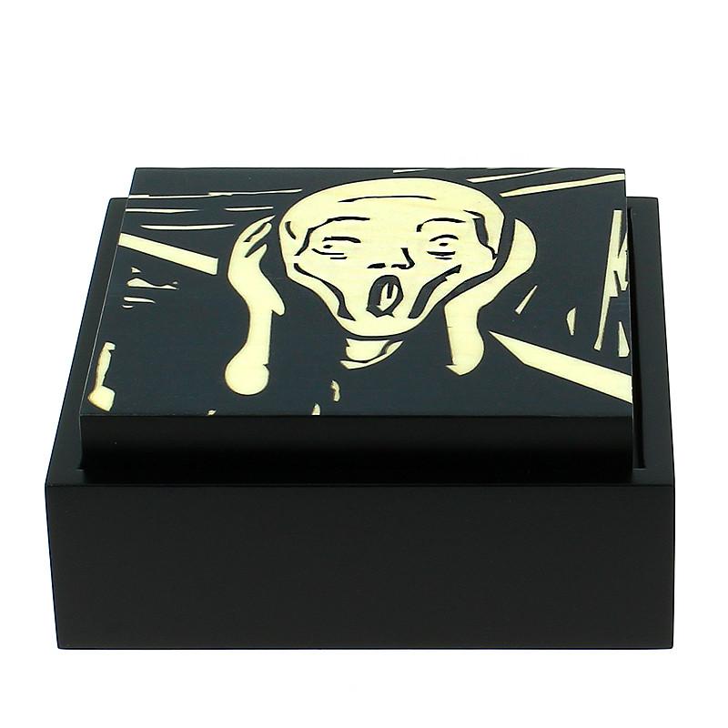 zoom Caja de madera El Grito de Edvard Munch