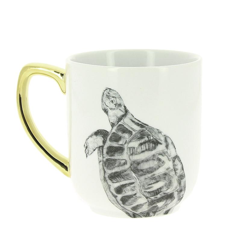 "zoom Mug ""Tortuga"" de caravaggio"