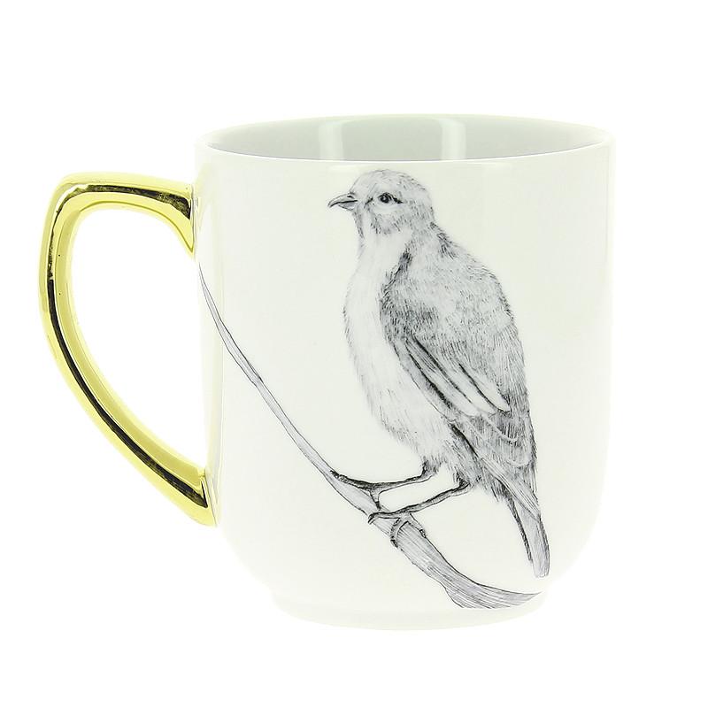 "zoom Mug ""Pájaro"" de Caravaggio"