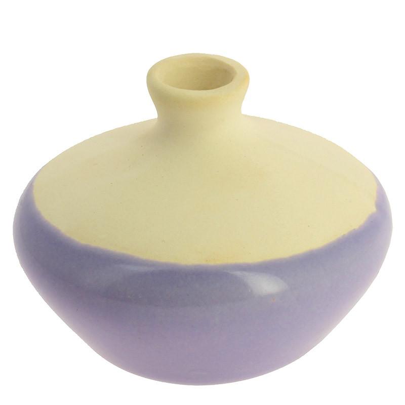 zoom Pequeña pieza de cerámica malva Sonia Delaunay