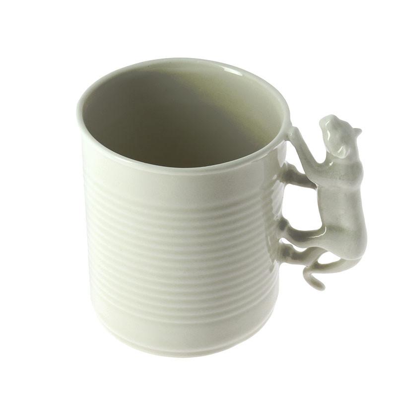 zoom Mug de porcelana Jardín del Edén: Tigre