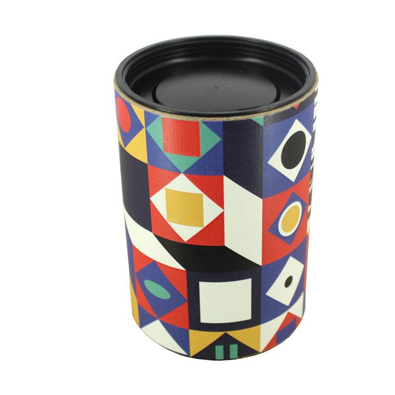 zoom Vaso con vela Op Art
