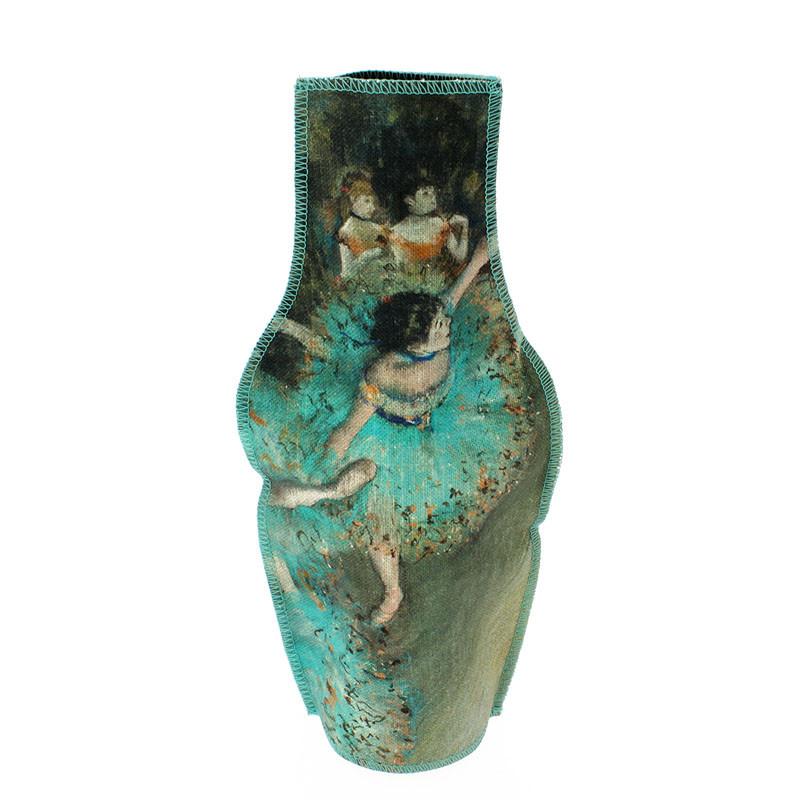 zoom Funda jarrón de tela Bailarina de Degas