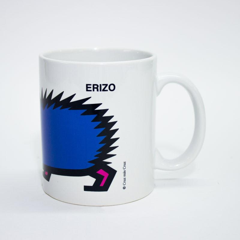zoom Taza Erizo Cruz Novillo