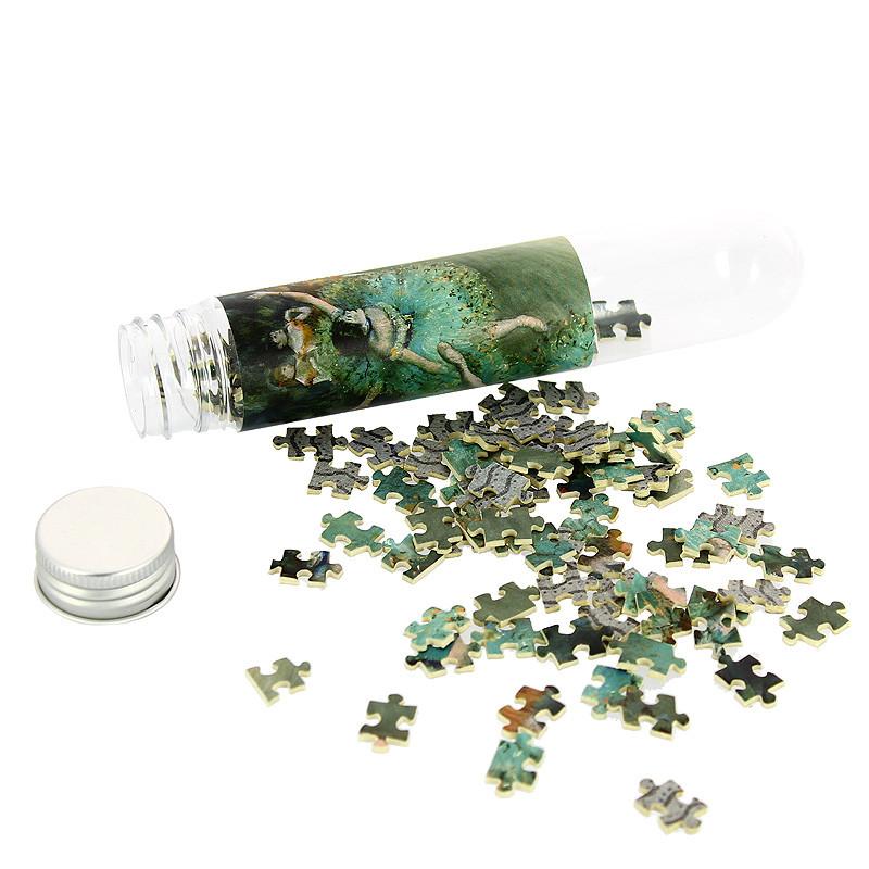 """zoom Micropuzle """"Bailarina basculando"""" de Degas"""